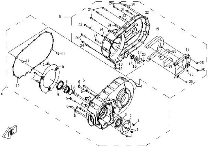 Cf Moto 250cc Engine Diagram, Cf, Get Free Image About